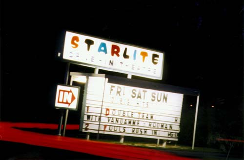 GDI was inspired by the drive-ins of my youth
