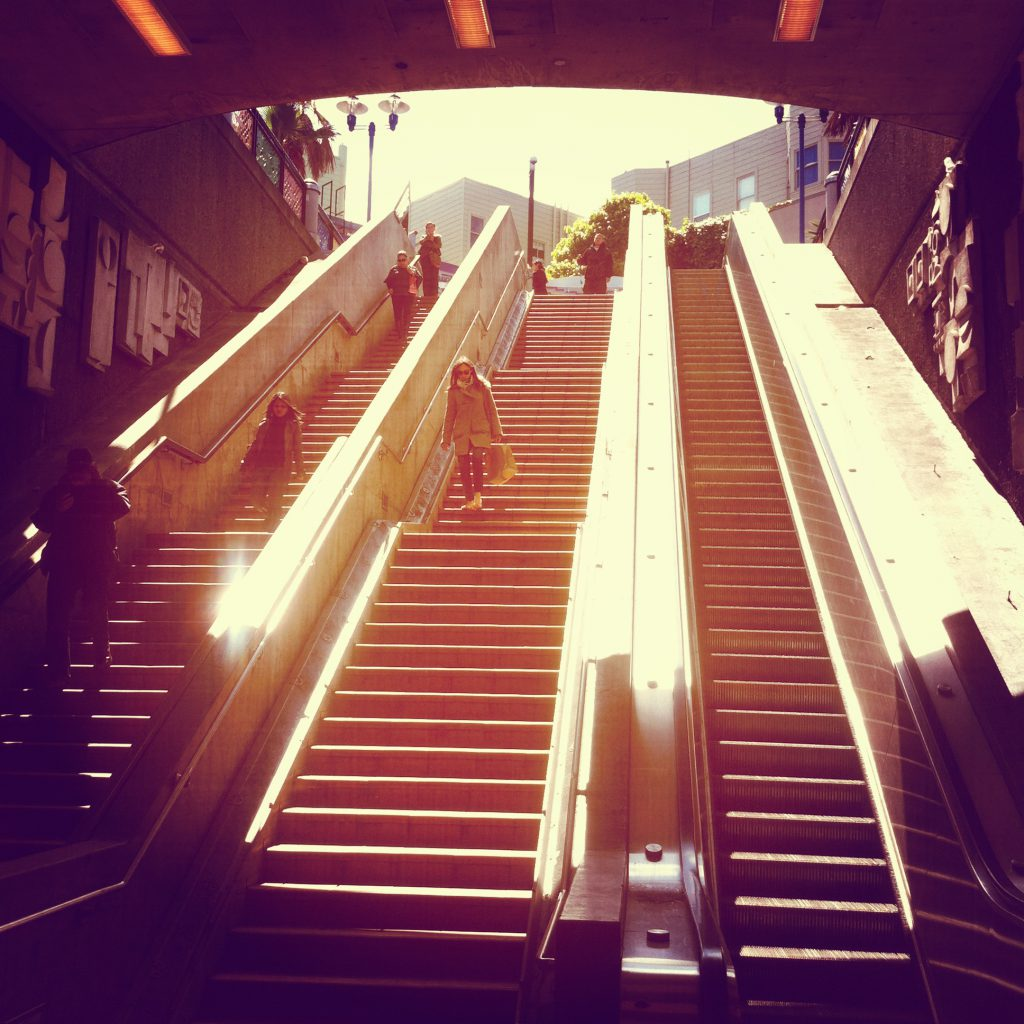 Even an ordinary urban landscape can provide opportunities to exercise your physical creativity. A stair rail becomes a slide. A brick facade becomes a climbing wall. A storm drain becomes a labyrinthian cavern.