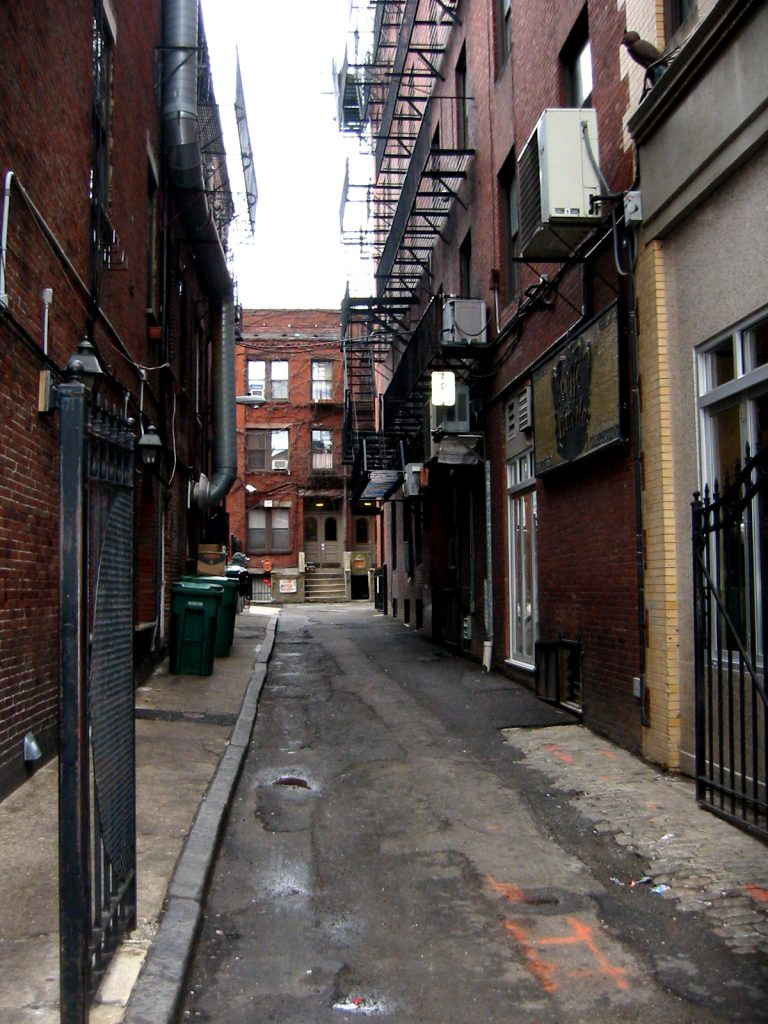 Older urban areas usually have more interesting areas and opportunities to explore.