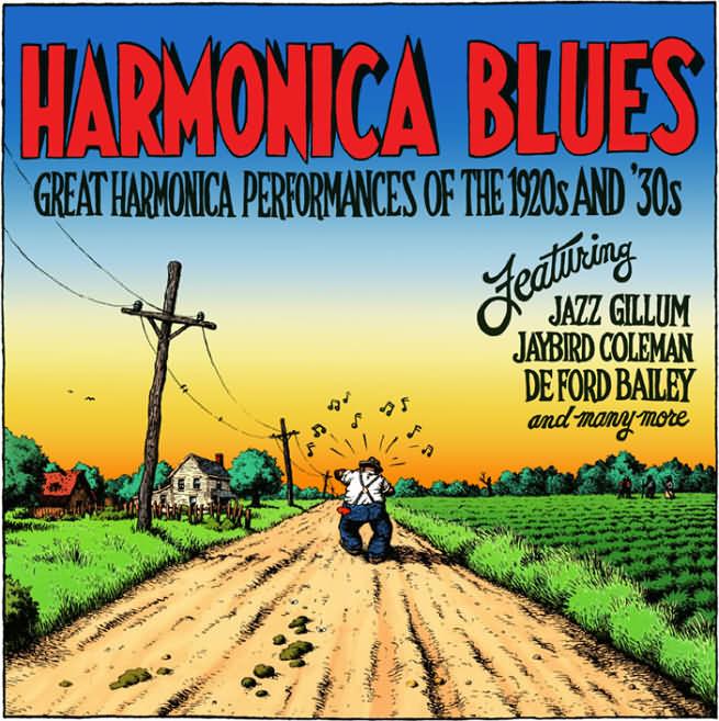 r crumb - harmonicablues